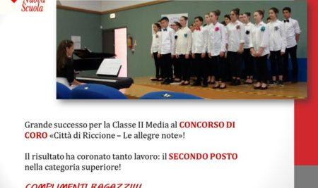 Grande successo per la IV edizione del Concorso di coro di Riccione