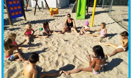 Centro estivo della Scuola dell'Infanzia al mare!!