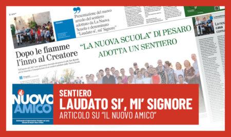 """Articolo de Il Nuovo Amico sul """"Sentiero Laudato si', mi' Signore"""""""